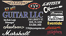 Key Note Guitar Sales Service Repairs